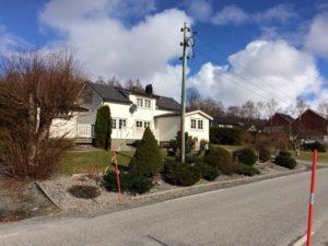 ノルウェーの家々