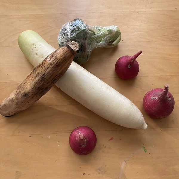 TAROやおやさんの野菜