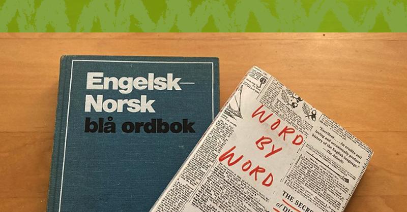 ノルウェー語の辞書と本