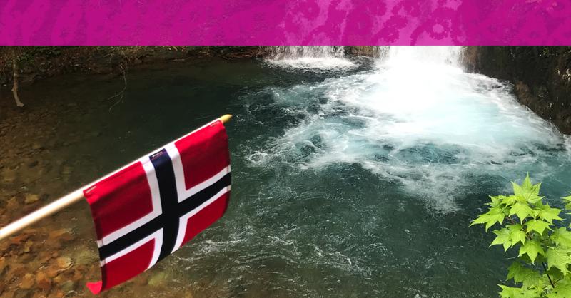 群馬にてノルウェーのナショナルディ